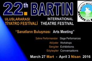 22. Bartın Uluslararası Tiyatro Festivali