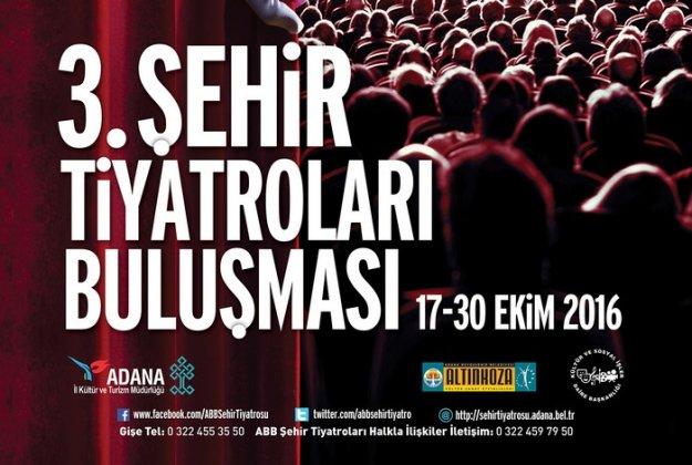 3. Şehir Tiyatroları Buluşması programı belli oldu.