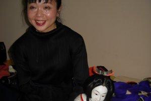 Japon Otome Bunraku Tiyatrosunun Yaşayan Beş Ustasından Biri : Masaya Kiritake