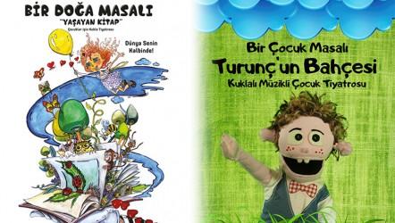 Tiyatro Gülgeç' ten çocuklar için kukla tiyatrosu