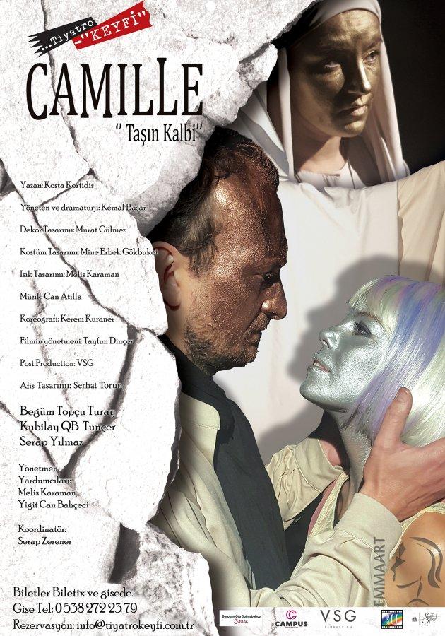 Tiyatro Keyfi'nin yeni eseri CAMILLE sahnelerde...