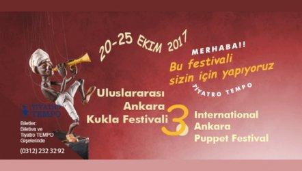 3. Uluslararası Ankara Kukla Festivali