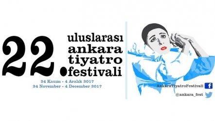 22. Uluslararası Ankara Tiyatro Festivali başlıyor.