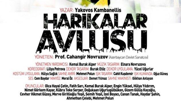 Harikalar Avlusu - Adana Şehir Tiyatrosunda