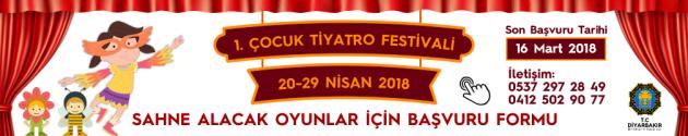 Diyarbakır Şehir Tiyatroları 1. Çocuk Tiyatrosu Festivali