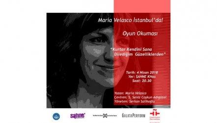 İspanya'nın Sıra Dışı Kalemi  Maria Velasco İstanbul'da!