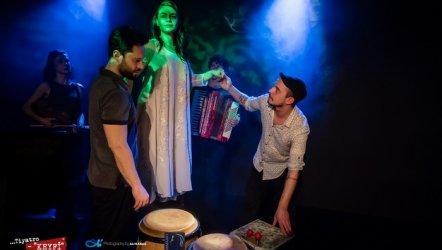 Gözlerin Ardında Müzikal Uluslararası Jaffa Tiyatro Festivali'nde...