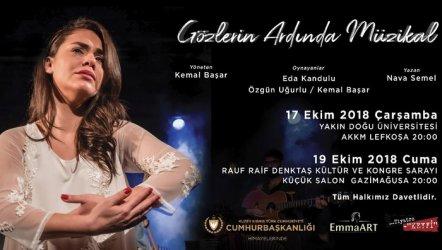 Gözlerin Ardında Müzikal Lefkoşa'da Yakın Doğu Üniversitesi AKM'de