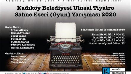 Ulusal Tiyatro Sahne Eseri Yazman Yarışması
