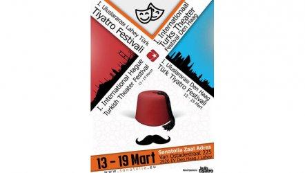 1. Uluslararası Lahey Türk Tiyatro Festivali başlıyor!