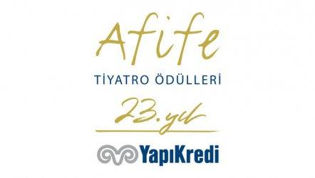 23. Yapı Kredi Afife Tiyatro Ödülleri Açıklandı.