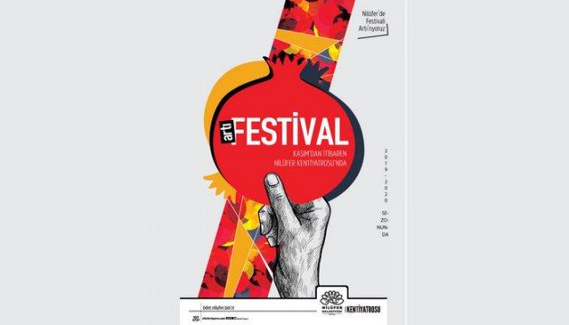 Nilüfer Tiyatro Festivali artık 6 aylık sezona yayılacak
