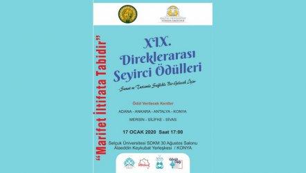 XIX. Direklerarası Ödülleri - Konya'da...
