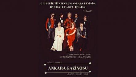Ankara Gazinosu Müzikli Kabare Oyunu