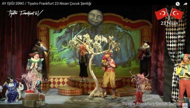 Tiyatro Frankfurt`tan bir ilk daha.. ÇOCUKLAR PANDEMİ TANIMADI