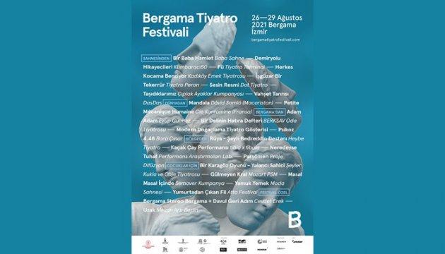 Bergama Tiyatro Festivali'nde 4 Günde 25 Oyun Sahnelenecek