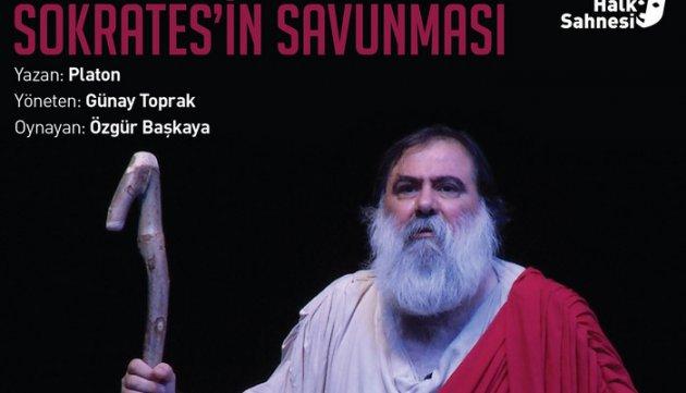 Sokrates'in Saunması İzmir Halk Tiyatrosunda